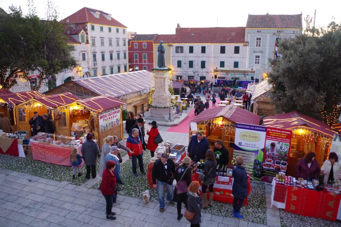 Makarska christmas town