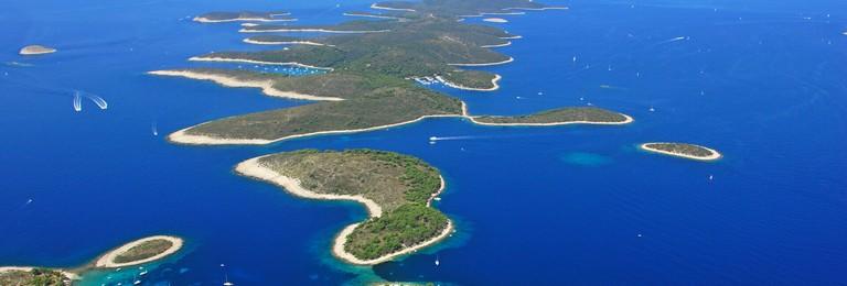 Kroatischen Inseln