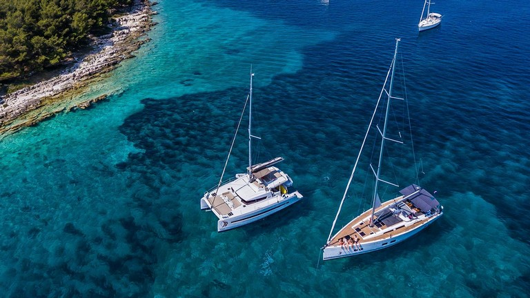 Yachting in Kroatien